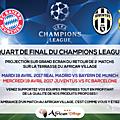 African village hotel - retour quart de finale champions leagues