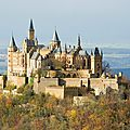 Chateau de hohenzollern (allemagne)