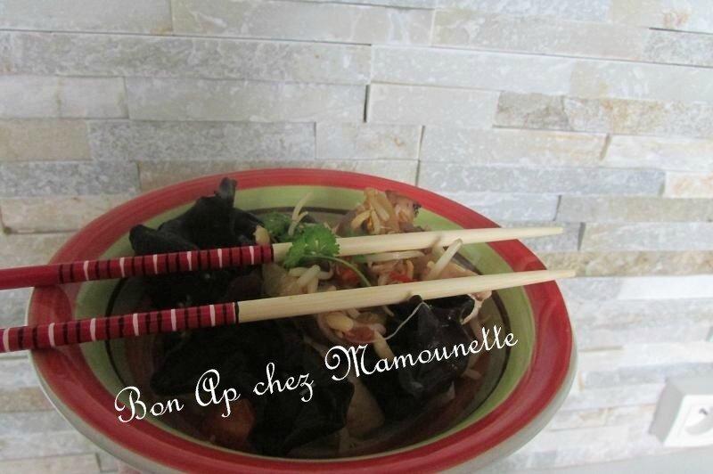 filets de dinde champignons rosés et noirs sirop d'érable 013-