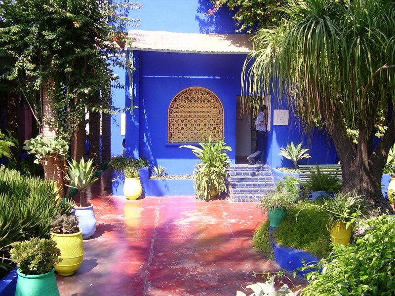 jardin majorelle marrakech maroc photo de hommage la nature un amour de terre. Black Bedroom Furniture Sets. Home Design Ideas