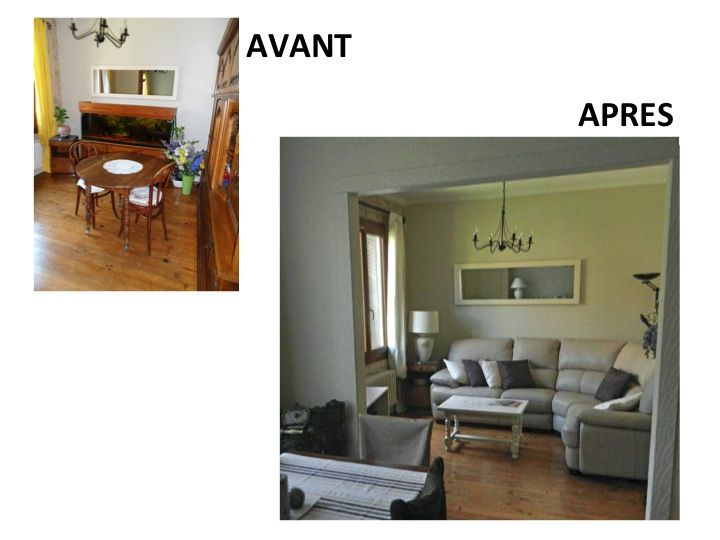 Home staging avant apres photos 28 images bureau avant - Salon avant apres ...