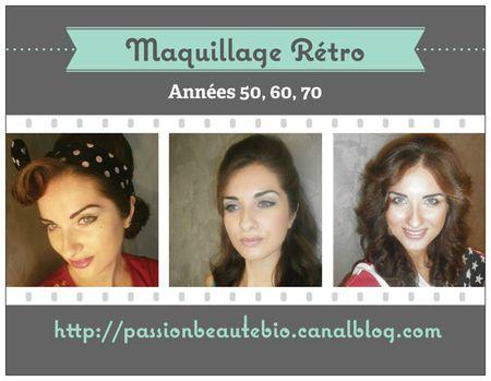 Maquillage Rétro Passion Beauté Bio