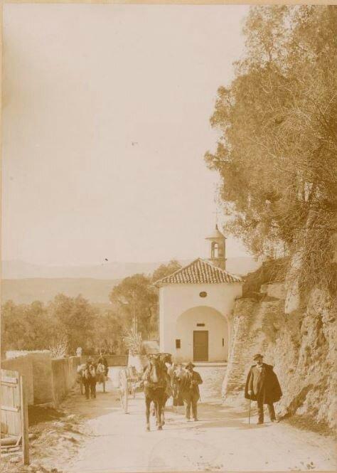 André Salles, Route de Nice à Villefranche, 1893, SG WC-389