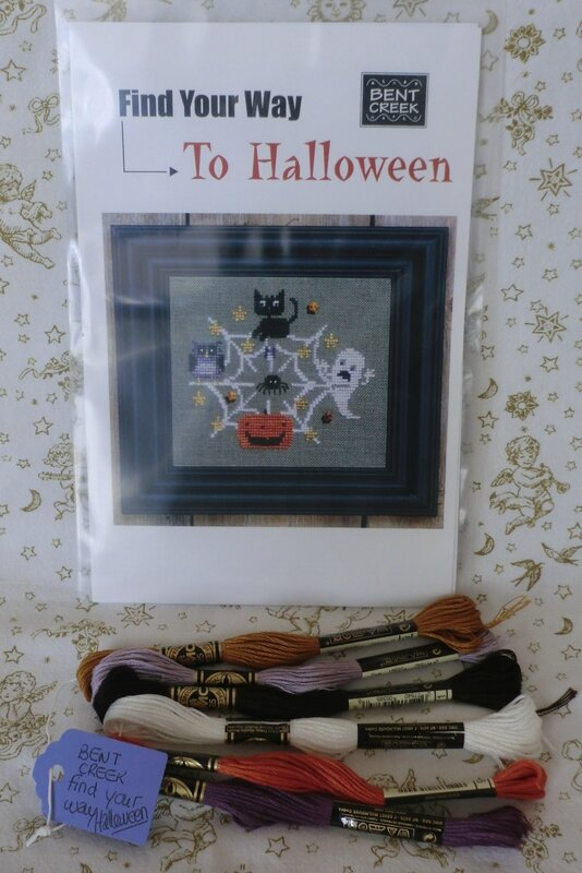calendrier de l'avent 2014 - 17 - grille Bent Creek find your way to Halloween