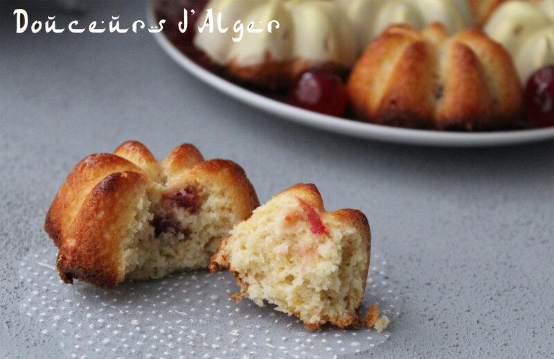 benberim - Gâteaux à la noix de coco et aux cerises confites 1