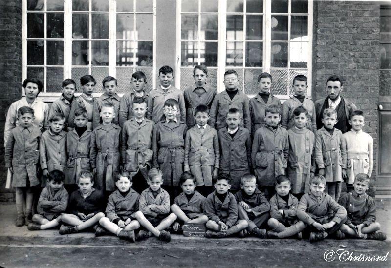 TRELON-Ecole Libre Trélon 1955