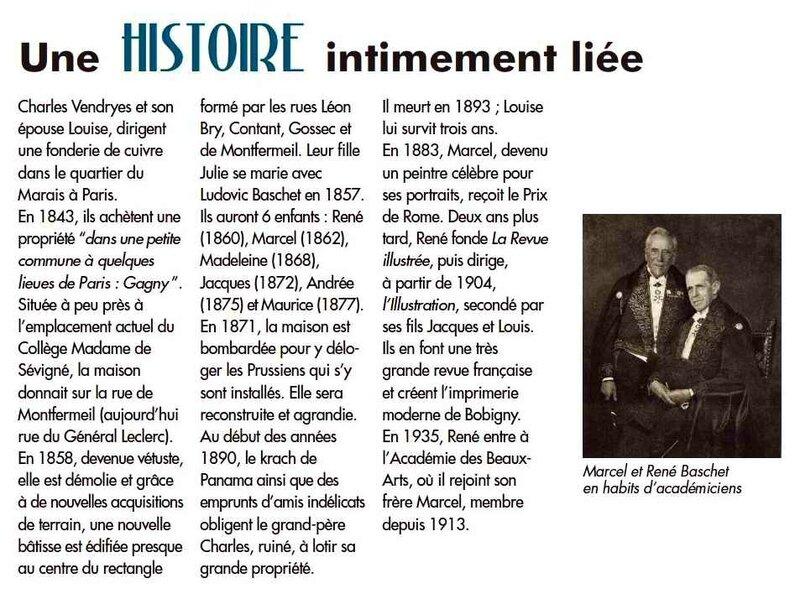 Baschet histoire