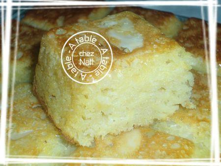 Moelleux aux amandes et aux pommes (sans beurre) 2