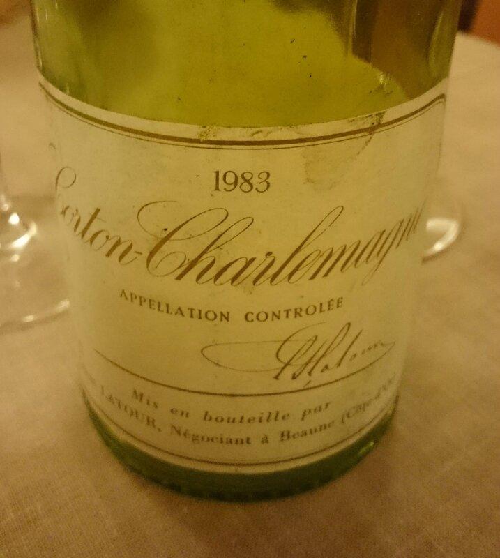 Corton-Charlemagne 1983