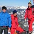 Ski de Rando au Mont Charvin.