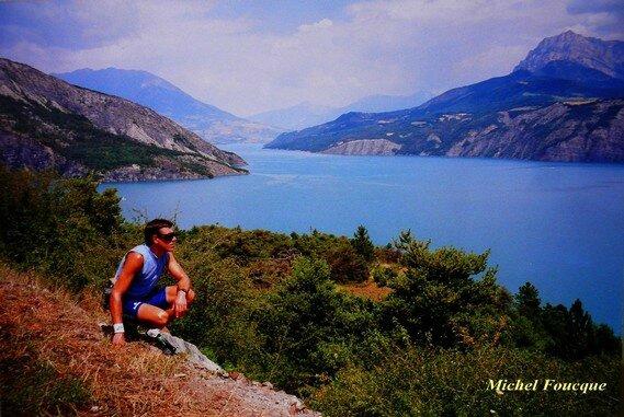 15) Tour du lac de Serre Ponçon à vélo