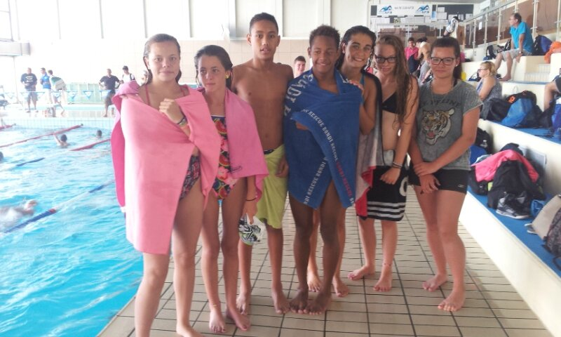 Natation cf news as unss et eps au coll ge les ch nes for Piscine echirolles