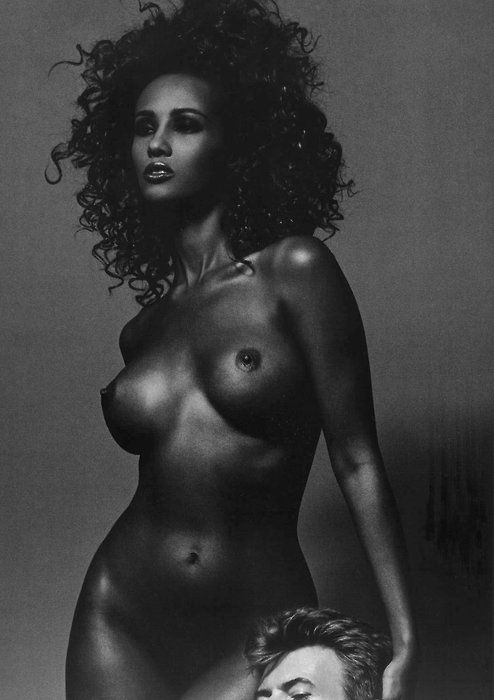 nude ebony models collins
