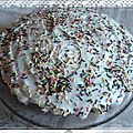 Gâteau au yaourt zébré