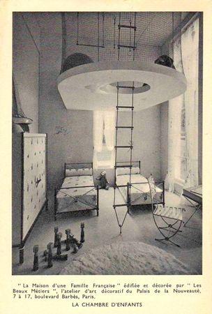 andre_arbus_maison_d_une_famille_fran_aise_1937_exposition_universelle_chambre_enfant
