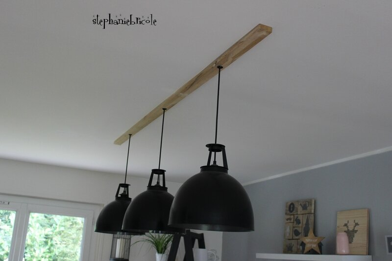 diy suspension luminaire