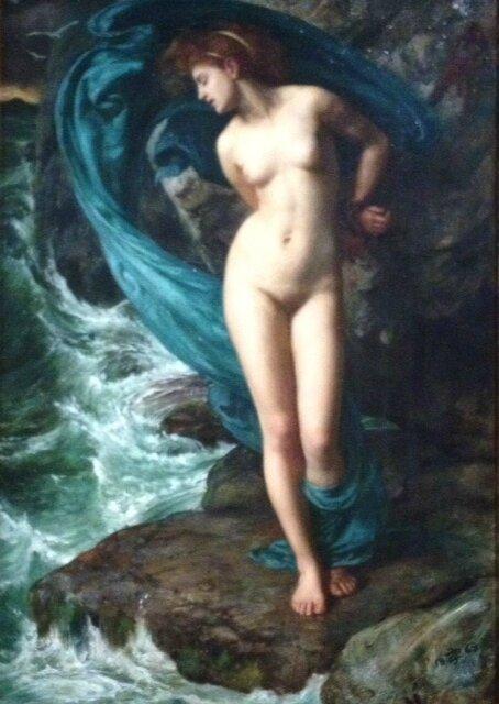 8 SirEdward J Poynter, Désirs et volupté à l'époque victorienne, musée Jacquemart André