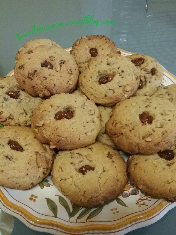 Cookies aux chouchous