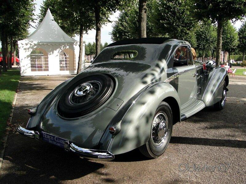 horch 853 Stromlinien coupe manuela 1937 b