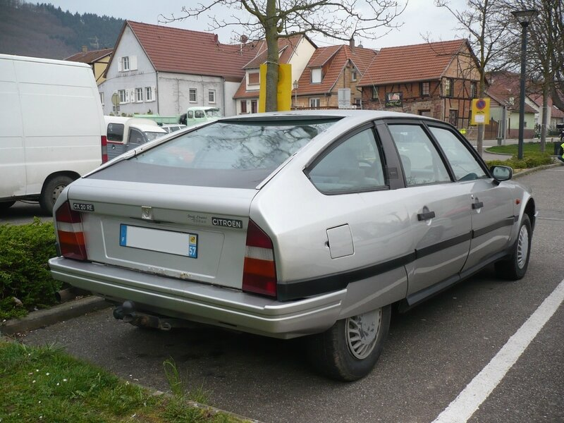 CITROËN CX 20 RE berline Châtenois (2)