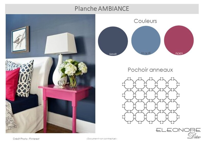 Planche_ambiance rose