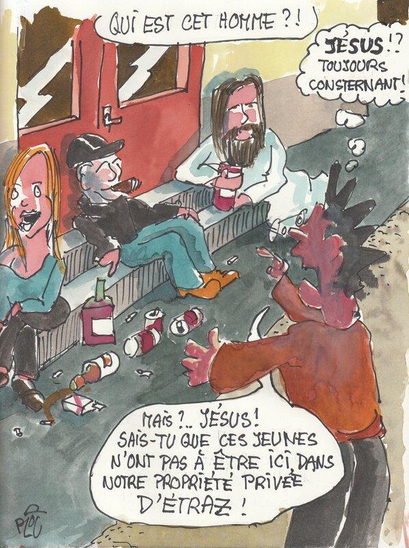 Jésus toujours consternant