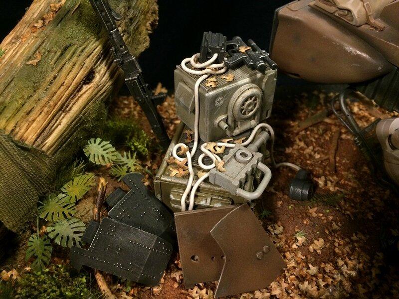Diorama Endor 15