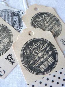 Lot étiquettes détail