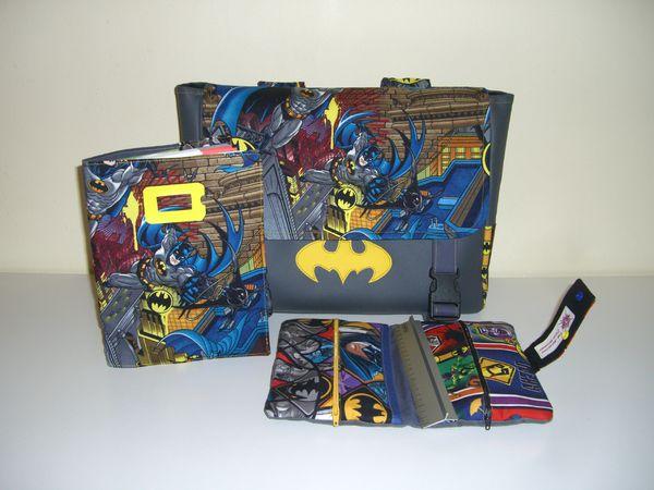 Ensemble rentrée Batman Camille (5)