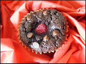 muffin choco framoise