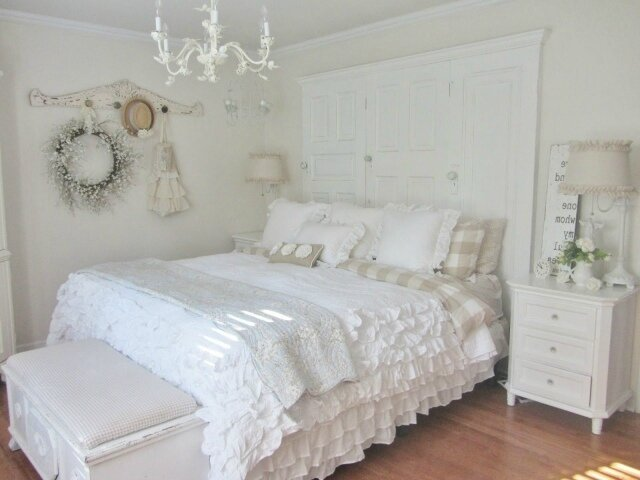 d coration chambre romantique. Black Bedroom Furniture Sets. Home Design Ideas