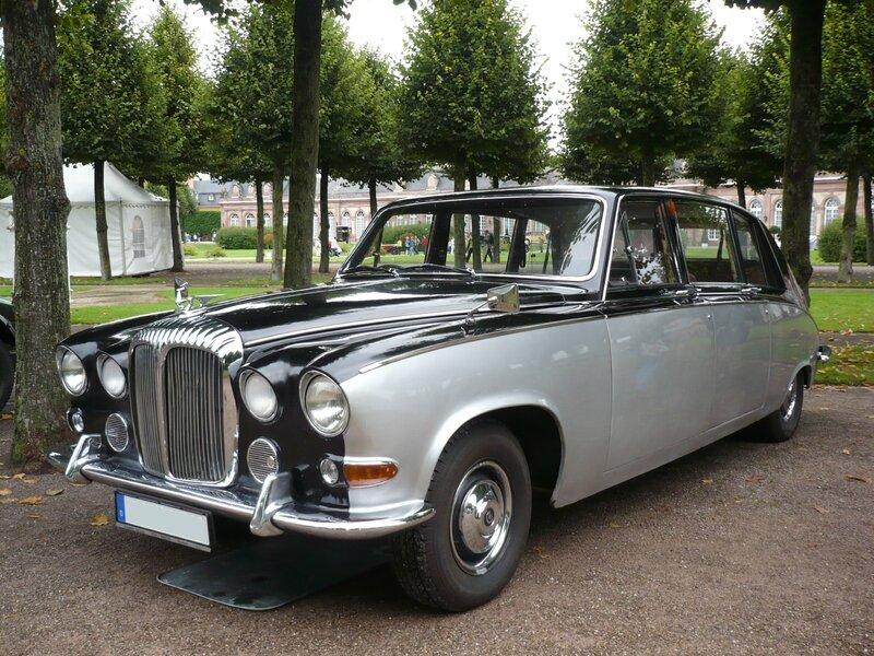 DAIMLER DS 420 limousine Schwetzingen (1)