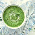 Velouté végétal de brocoli