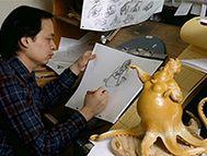 Ruben Aquino superviseur de l'animation d'Ursula