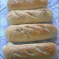 Petit pain au lait brioch faon Hot Dog