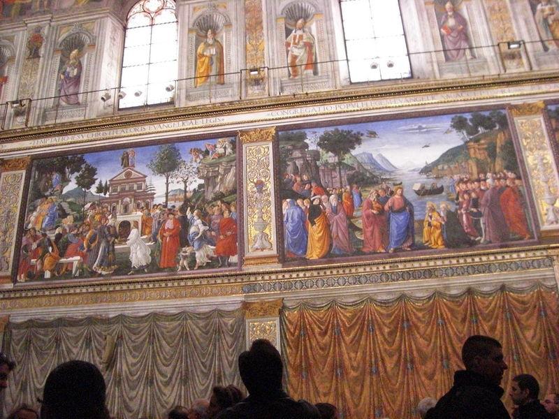 Les mus es du vatican la chapelle sixtine 4 4 - Fresque du plafond de la chapelle sixtine ...