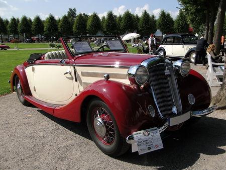 HORCH 930 V Glaser Special Roadster 1937 Classic Gala de Schwetzingen 2010 1
