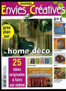 nouveau magazine de loisirs cr atifs les fantaisies d 39 anne so 39. Black Bedroom Furniture Sets. Home Design Ideas