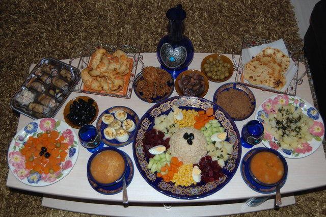 service de table ramadan