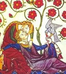 Codex Manesse, du Minnesinger Konrad von Altstetten