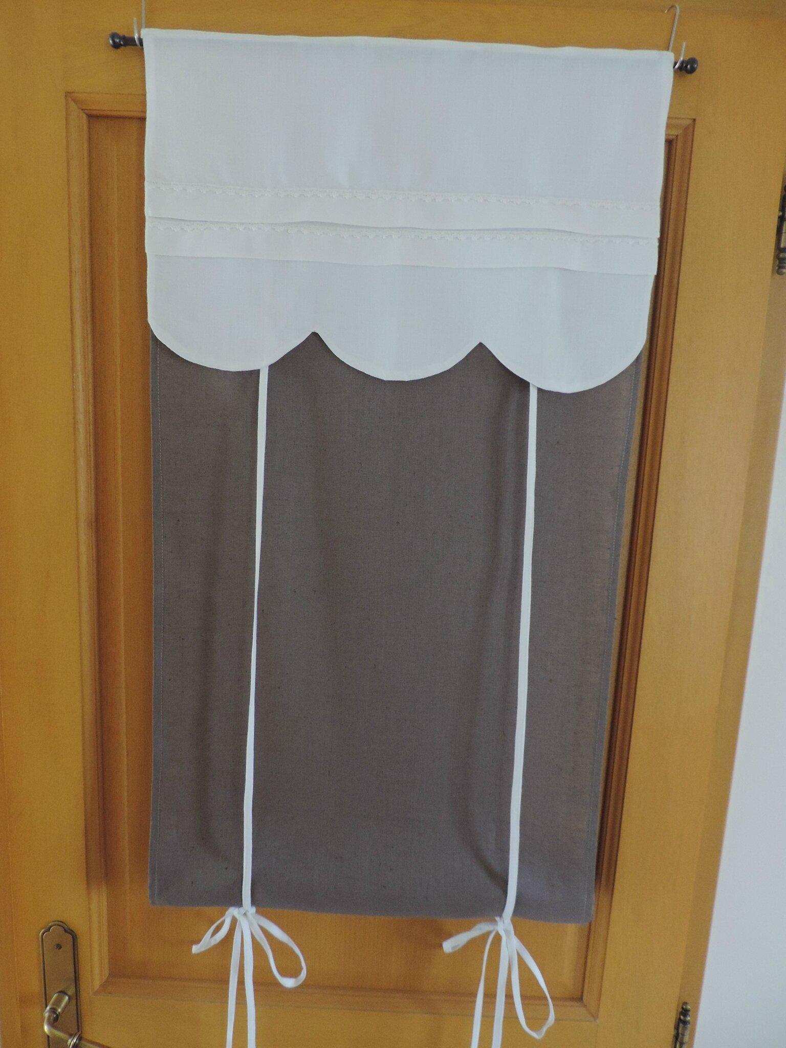 Store En Drap Ancien Et Pur Lin Fabrication Fran Aise