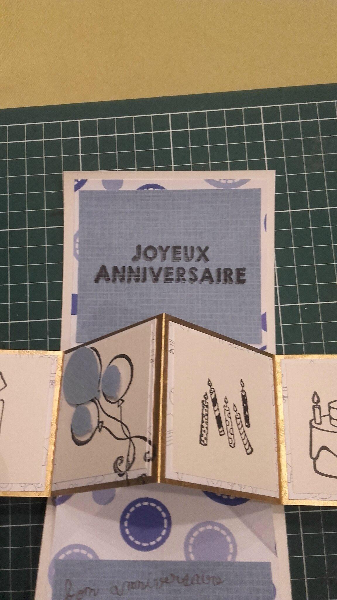 Carte d'anniversaire