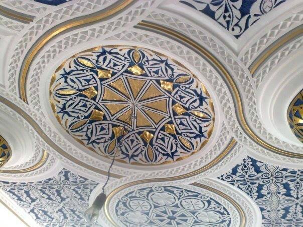 faux plafond marocain pur