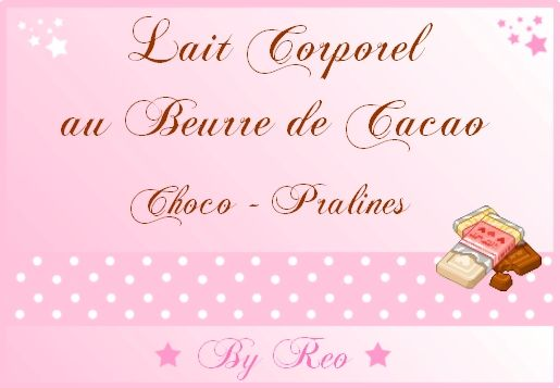 Lait Corporel au Chocolat