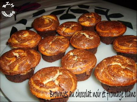 1215 Mini brownies façon cheesecake
