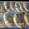 Cookies fourrés nutella