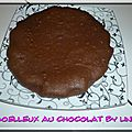Moelleux au chocolat (crme de riz)