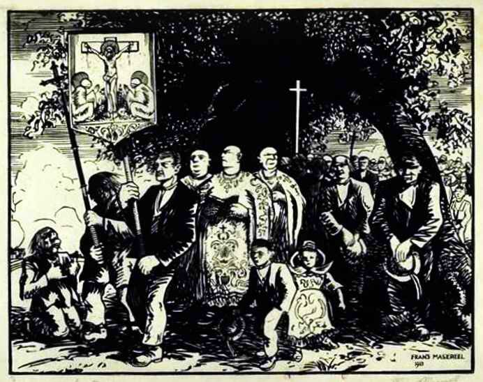 Masereel procession en Bretagne
