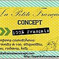 La petite française, notre nouveau sponsor
