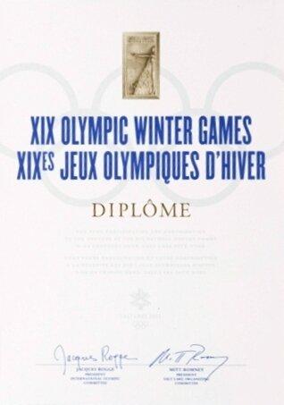 Diplôme JO 2002 R